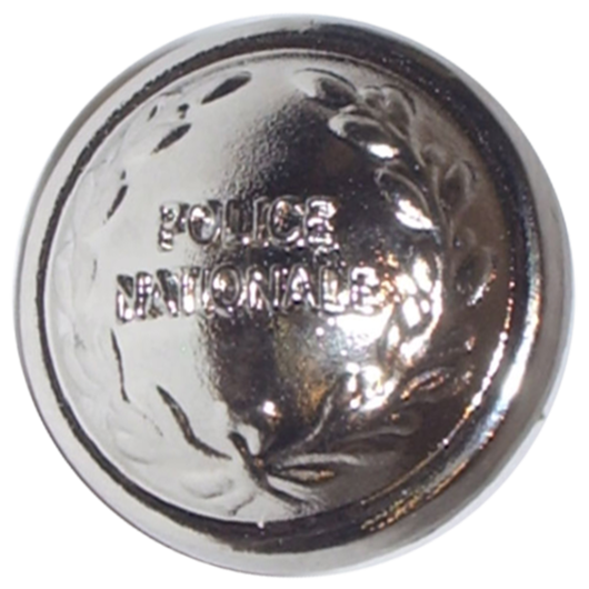 Bouton Police Nationale