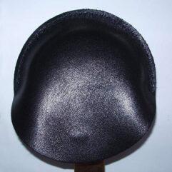 Cache cocarde en cuir