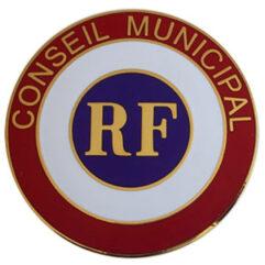 Cocadre de voiture conseil municipal