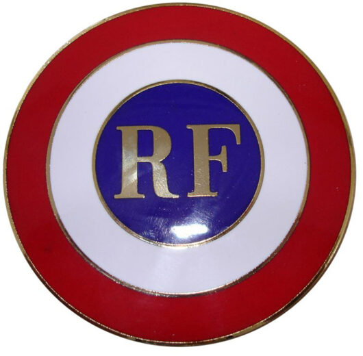 Cocarde de voiture RF