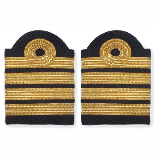 Galons d'épaule Commandant de bord